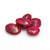 Gorgeous !! Indian Ruby Oval Faceted Loose Precious Gemstone.