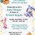 Baby Shower Printable Invitation, Winnie the Pooh, Tiger, Piglet, Eyeore, DIY