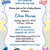 Baby Shower Printable Invitation, Mickey Mouse, Minnie Mouse, DIY