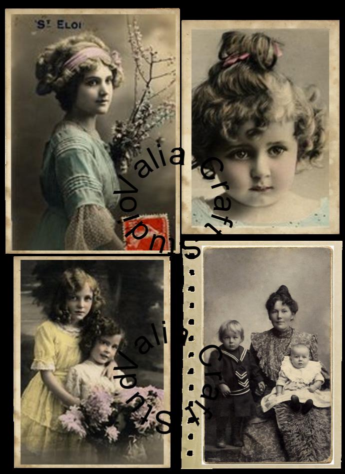 Vintage Ephemera  Digital Printable