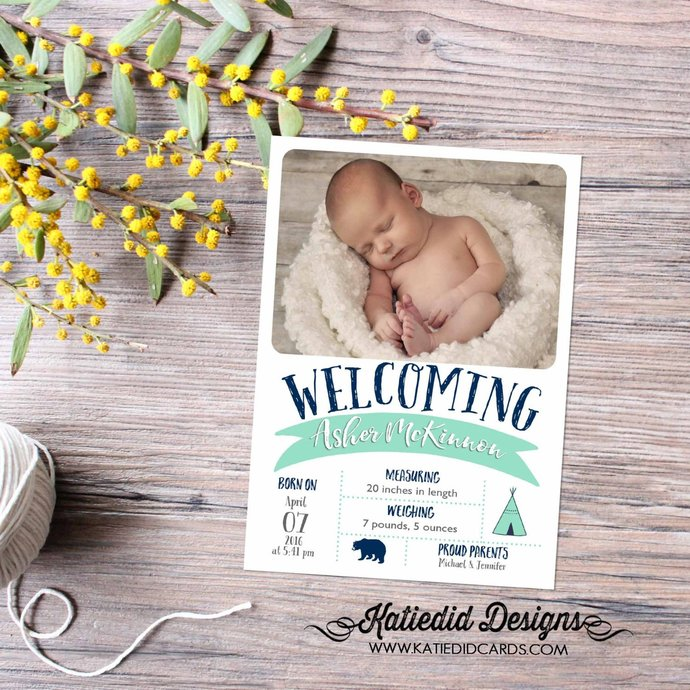 sonogram pregnancy announcement photo announcement new baby rustic baby boy