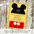 Mickey mouse birthday invitation Disney baby shower gender neutral reveal Diaper