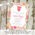 couples baby shower invitation floral bodysuit onesie sprinkle sip see diaper