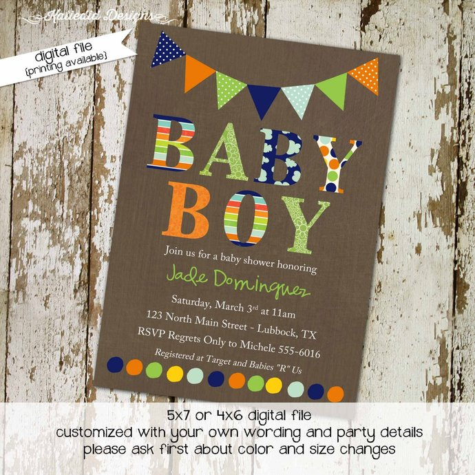 couples baby shower invitation oh boy birthday twins coed sprinkle sip see