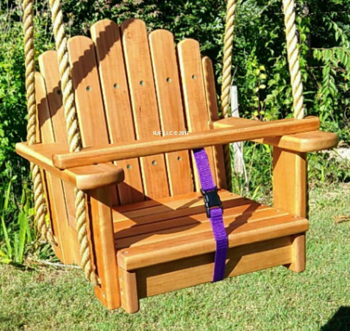 Wondrous Wood Tree Swings Sun Burst Cherry Toddler Seat W 11 Feet Of Rope Per Side Caraccident5 Cool Chair Designs And Ideas Caraccident5Info