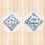 """Sterling Silver Pocket Cross. """"Be Strong and Courageous"""""""