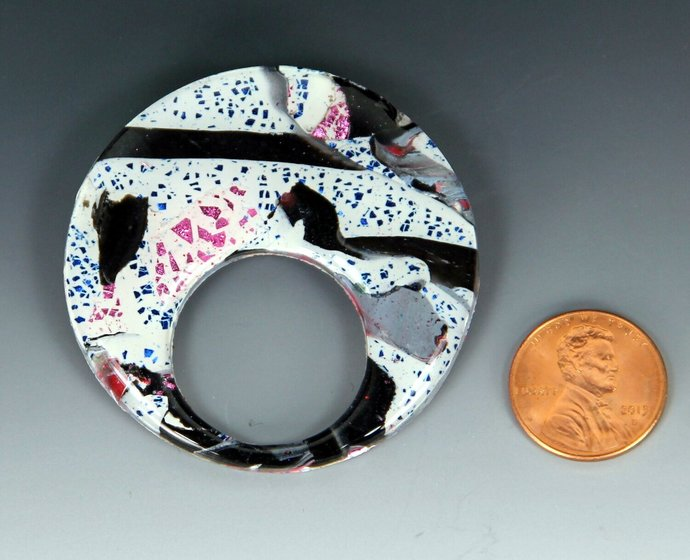 Reading Glasses Carry Pendant / Brooch - hand made and one of a kind jewelry