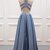 Gorgeous Lace and Satin Long Formal Dress, Charming Party Gowns, Prom Dress