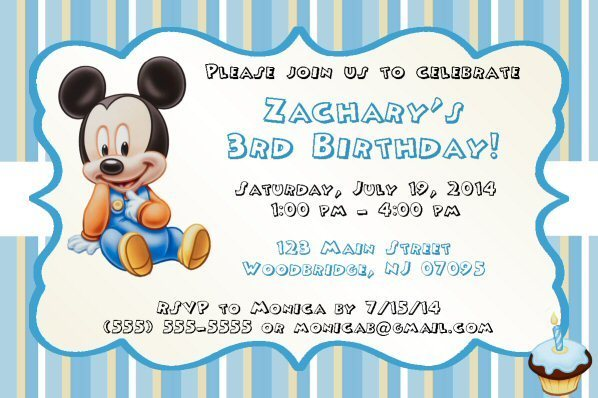 graphic relating to Mickey Mouse Printable Birthday Invitations called Mickey Mouse, Minnie Mouse Printable Birthday Invitation, Do-it-yourself