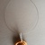 Handmade necklace (material for pendant: polymer clay - product 257/2018)