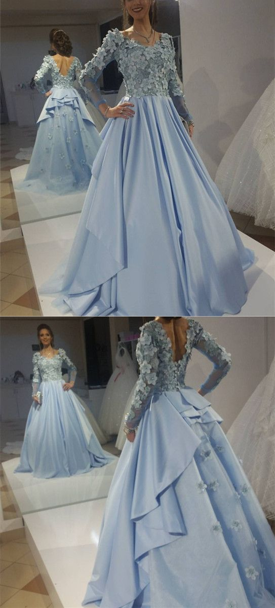 4c5d6903293 Chic Floral Lace prom dress