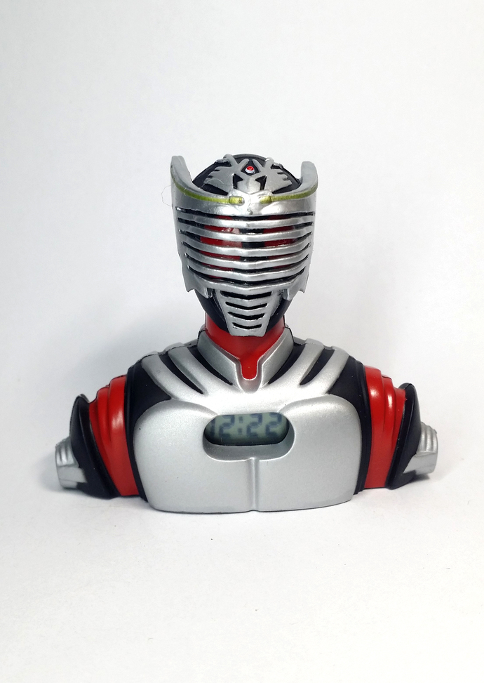 Masked Rider Dragon Knight RYUKI Mini Clock - TOEI Japanese Anime Kamen Rider -