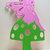 Cute Fairy on Top of Mushroom Metal Cutting Die