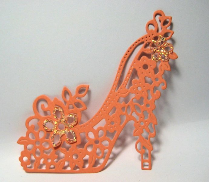 Fancy Shoe High Heel Cutting Die