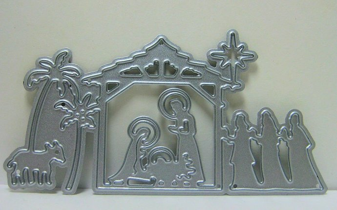Nativity Scene Metal Cutting Die Set