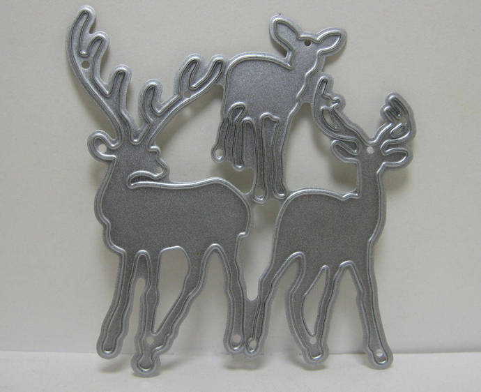 3 Deer Metal Cutting Die Set