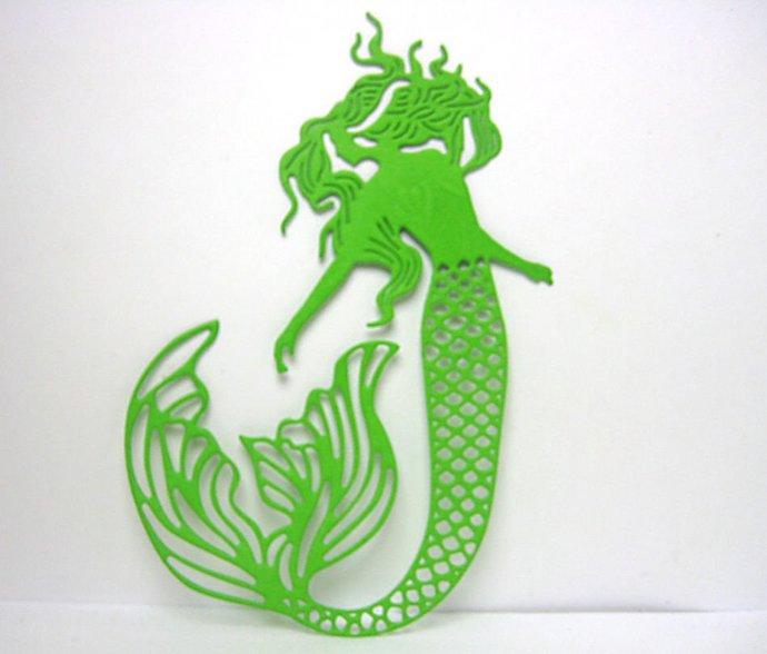 Mermaid Cutting Die Style #1