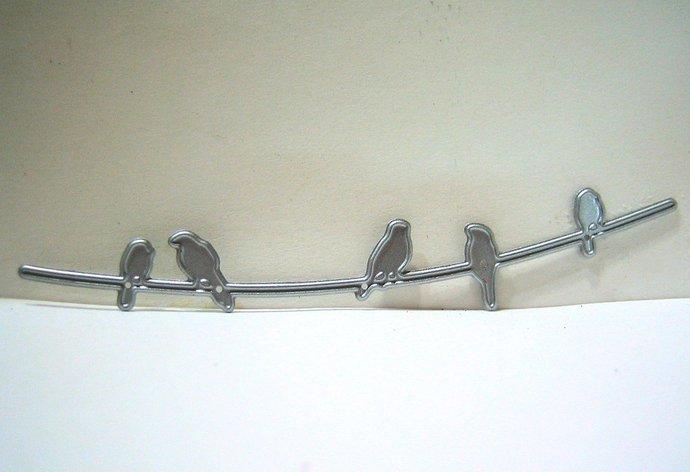 Birds on a Wire Metal Cutting Die