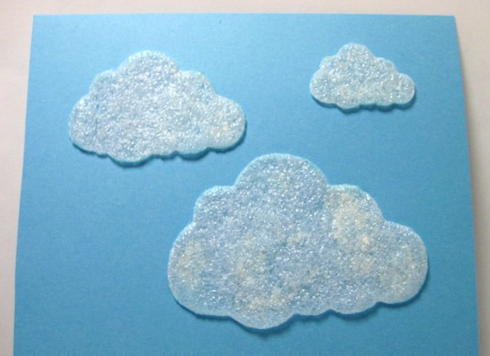 3 pc Clouds Metal Cutting Dies