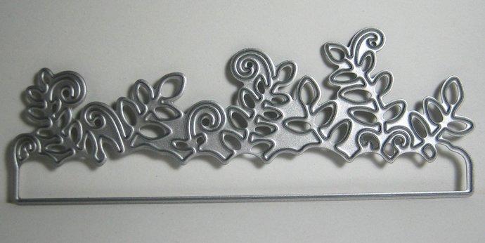 Leafy Plant Life Metal Cutting Die