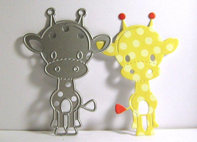 Baby Giraffe Metal Cutting Die Animal Die Cuts