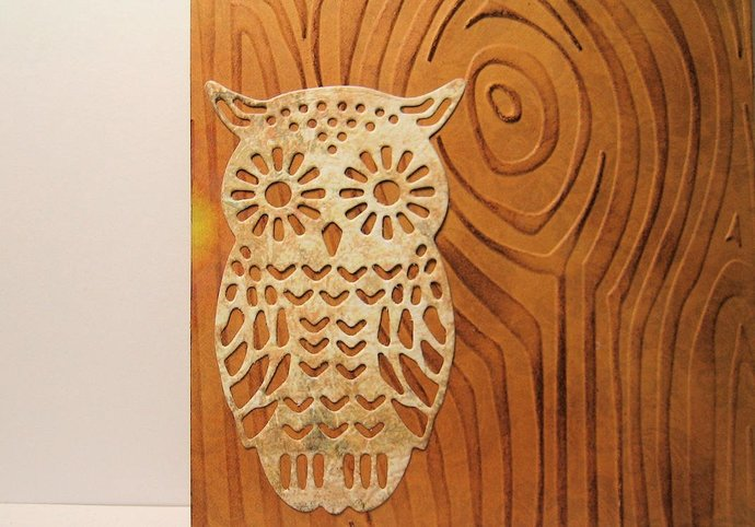 Owl Cutting Die