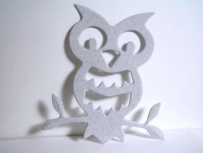 Owl on Branch Metal Cutting Die