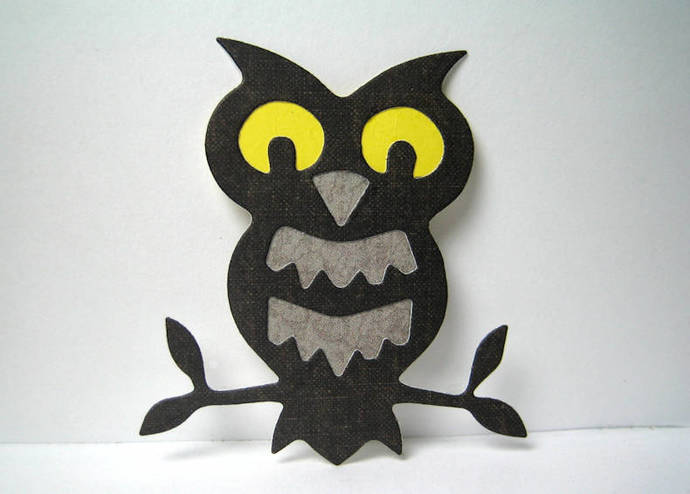 Owl on Branch Metal Cutting Die