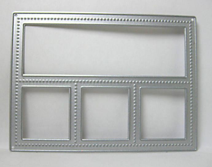 Shadow Box / Window Metal Cutting Die Frame Die Cuts