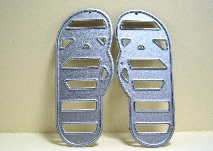 Sandals Metal Cutting Die, Card Making Dies