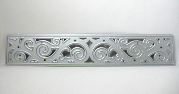 Large Border Edge Metal Cutting Die Style #7 Rectangle