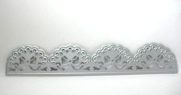 Lace Bow Border Edge Metal Cutting Die Style #8