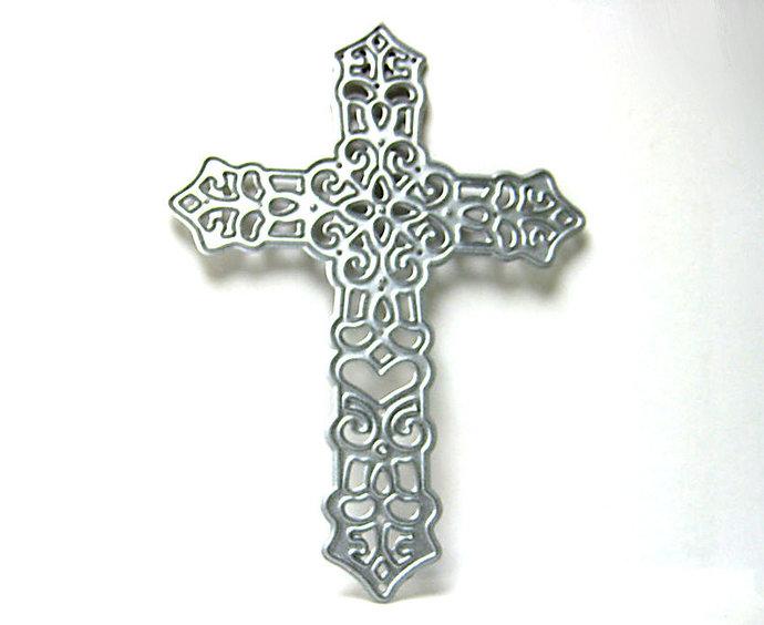 Cross Metal Cutting Die Style #4