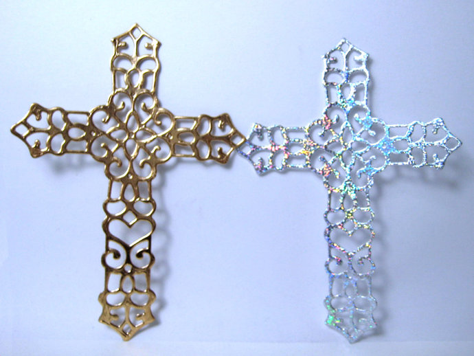 Cross Metal Cutting Die Style #4