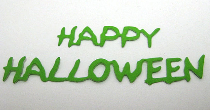 Happy Halloween Metal Cutting Die