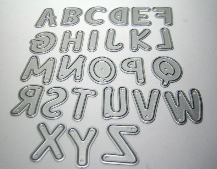 Alphabet Letter Metal Cutting Dies
