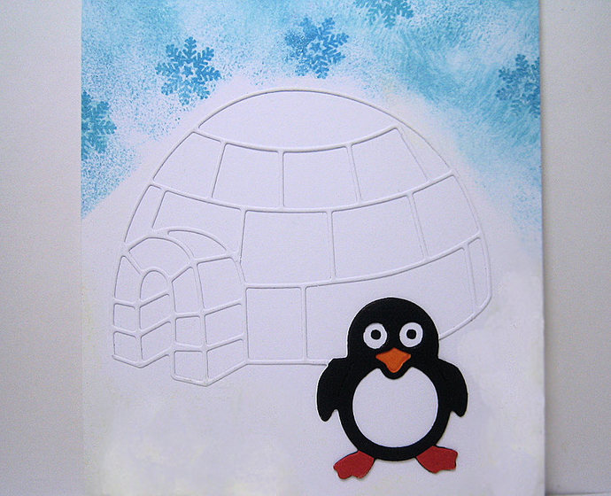 Igloo and Penguin Metal Cutting Die