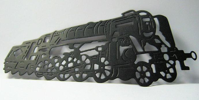 Large Train Metal Cutting Die