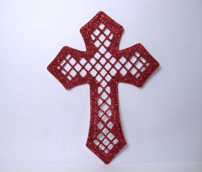 Cross Metal Cutting Die Style #2