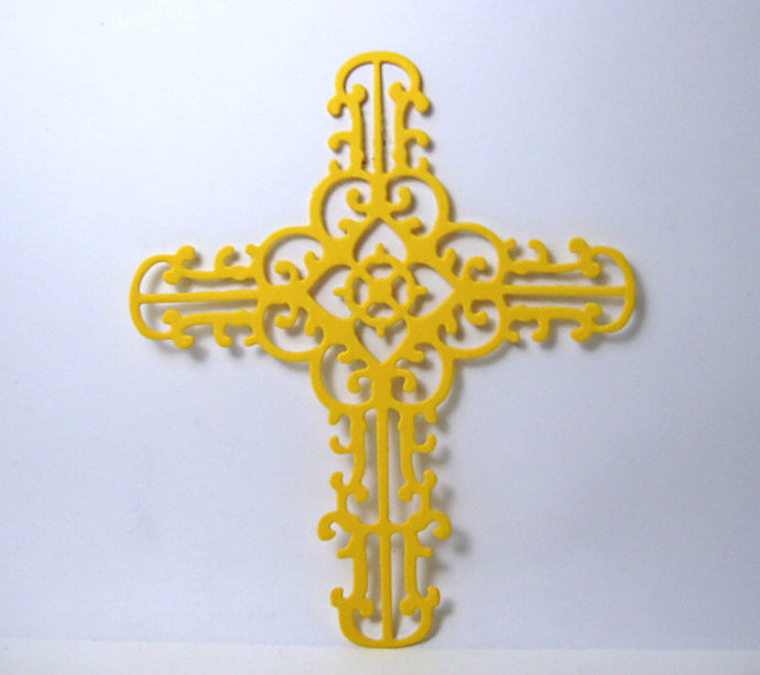 Cross Metal Cutting Die Style #1
