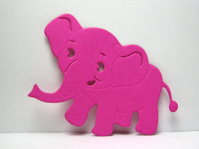 Small Baby Elephant Metal Cutting Die