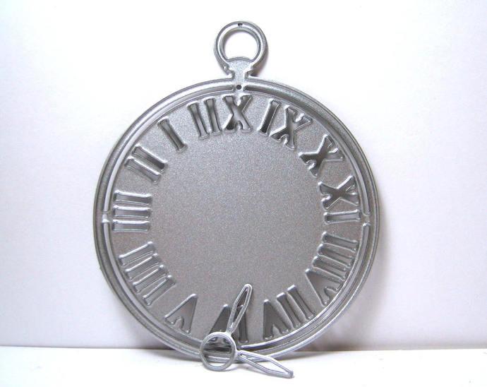 Pocket Watch Cutting Die, Card Making Die, Clock Die