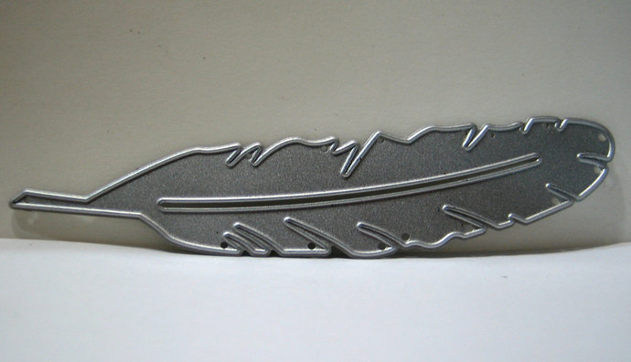 Feather Metal Cutting Die, Straight Style