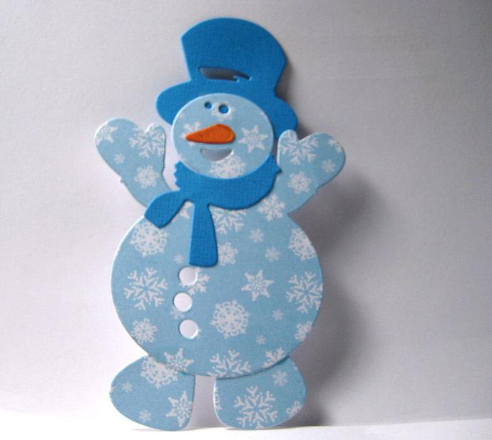 Chubby Snowman Metal Cutting Die Set