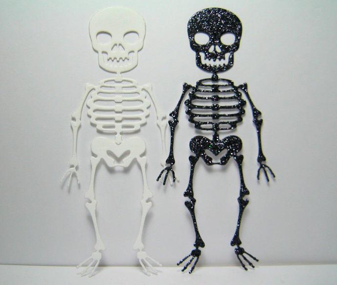 Spooky Halloween Skeleton Cutting Die