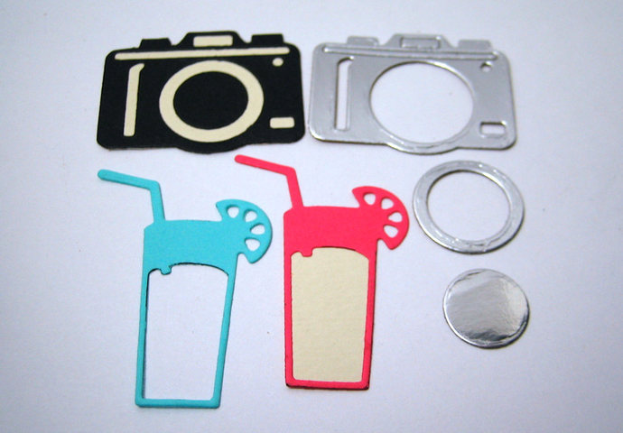 5 Pc Vacation Set Cutting Die Word Metal Cutting Dies