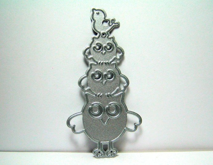 Owl Bird Tower Cutting Die