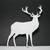 Antlered Deer Metal Cutting Die