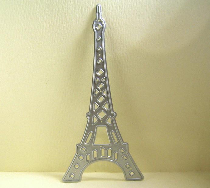Eiffel Tower Metal Cutting Die