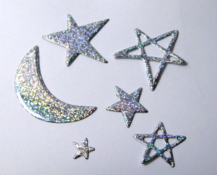 Stars and Moon Paper Cutting Die Set